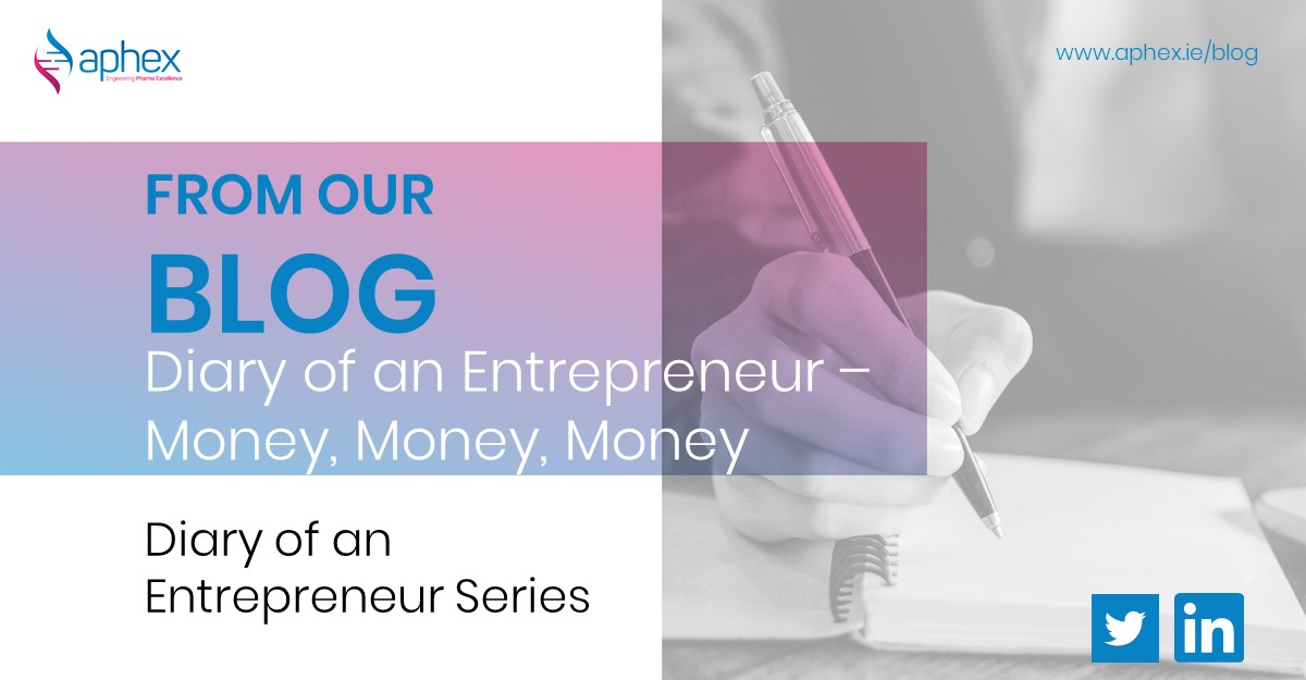 diary of an entrepreneur getting funding for your startup enterprise ireland