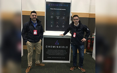 Chemishield stand wows at the Dublin Tech Summit 2018